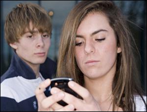 harcelé par le biais des SMS