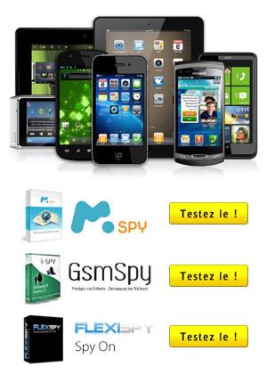 Programme de surveillance pour téléphone portable et tablette